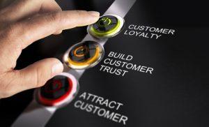chăm sóc khách hàng chân thành