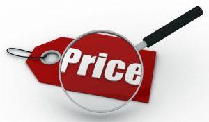giá cả trong bán hàng online