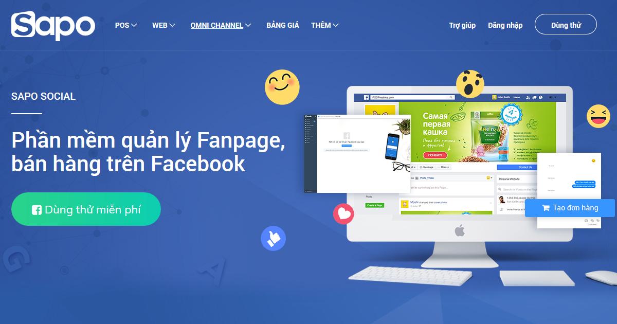 phần mềm quản lý bán hàng facebook miễn phí