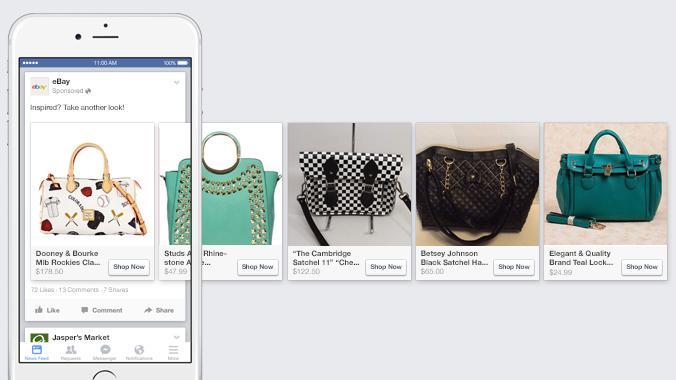 sản phẩm bán hàng online trên facebook