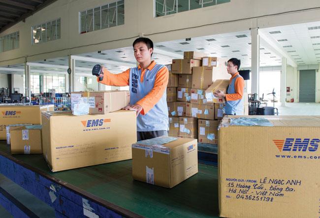 cước phí giao hàng nhanh bưu điện
