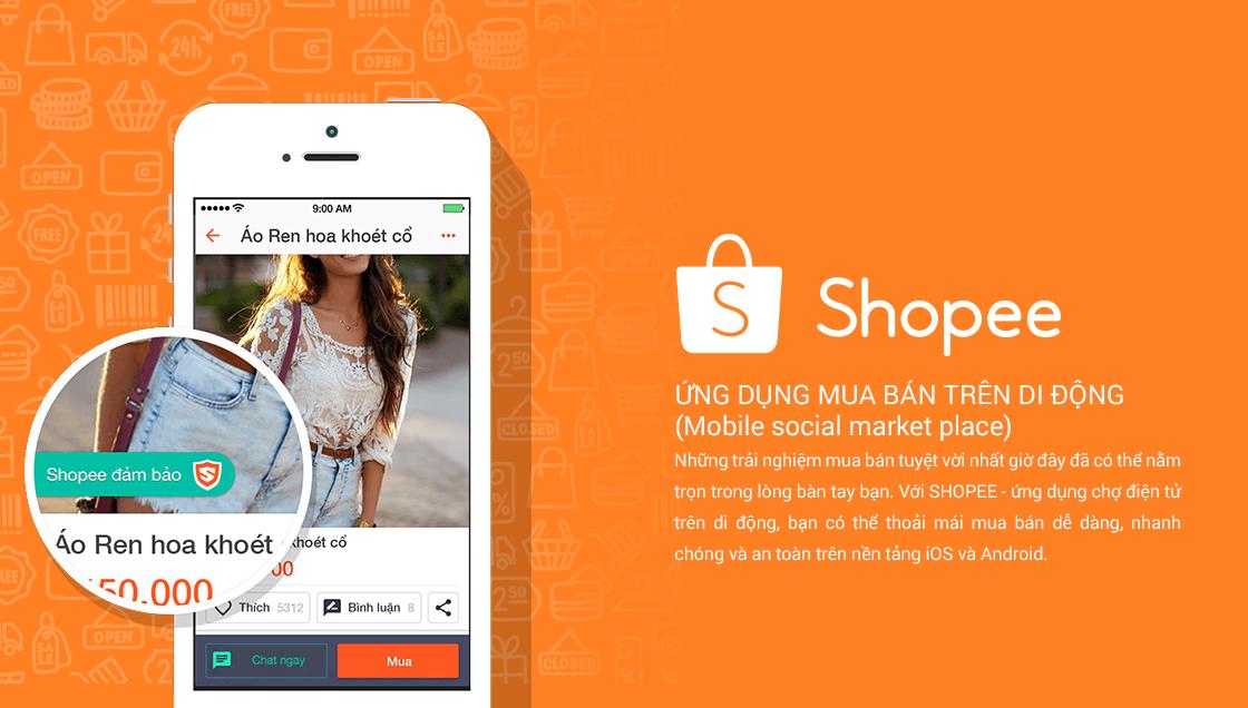 trang web bán hàng shopee