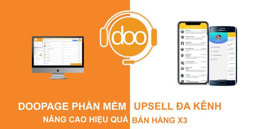 Doopage - Phần mềm hỗ trợ bán hàng online đa kênh