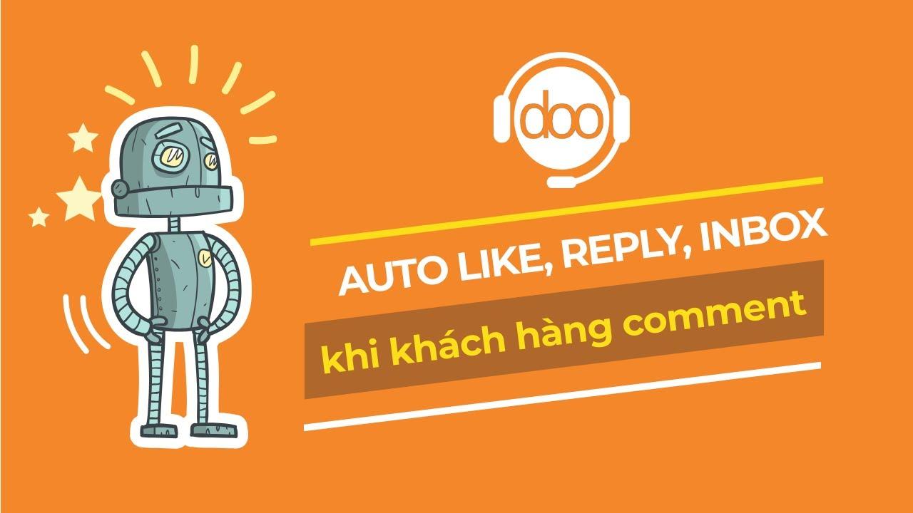 Phần mềm tự trả lời comment - Chatbot bán hàng đa kênh tốt nhất