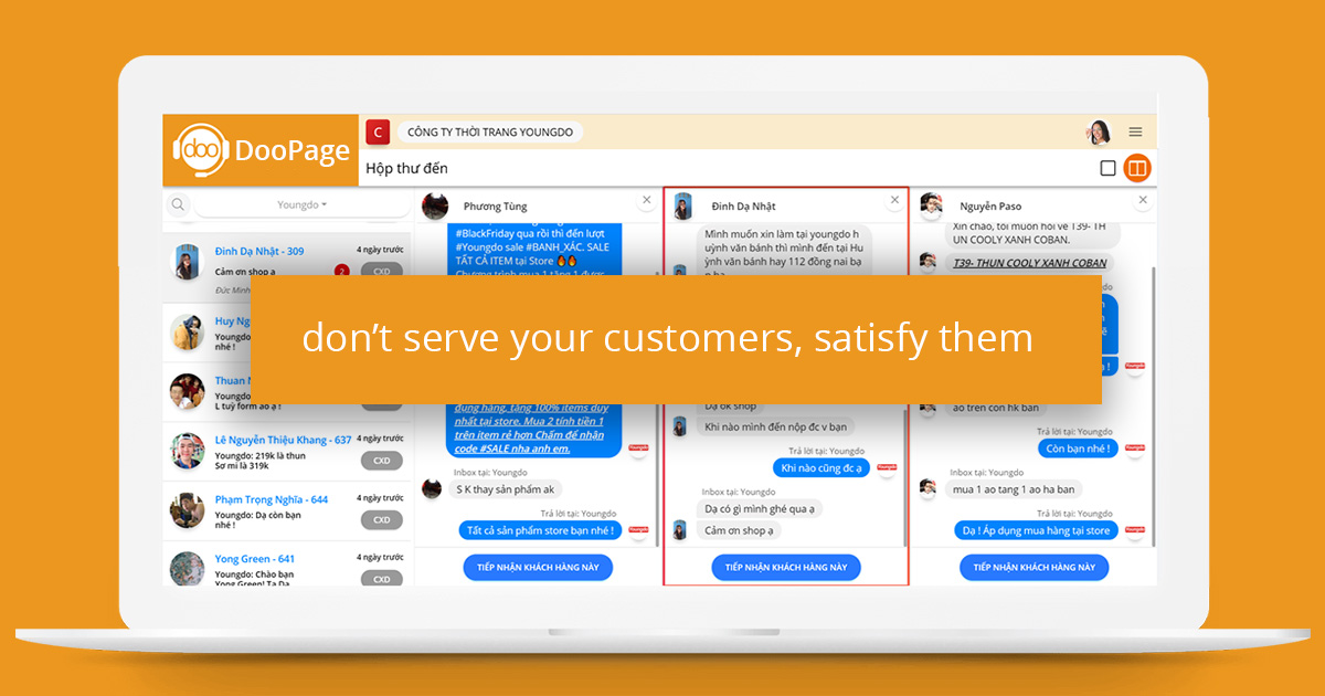 DooPage – Automated omni-channel sales management app